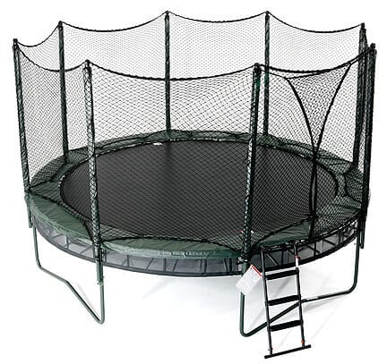 AlleyOOP 14' VariableBounce Trampoline with Integrated Safety Enclosure