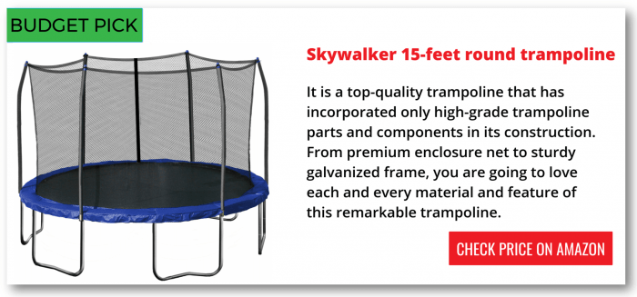 trampolines for cheap