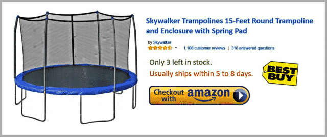 Best Skywalker Trampoline
