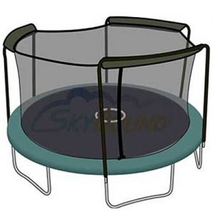 SkyBound Trampoline Net for Arched Poles