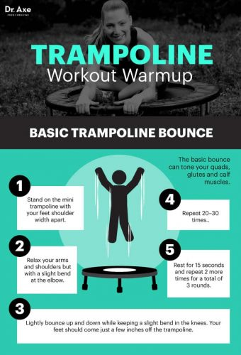 Trampoline Exercise Warm up