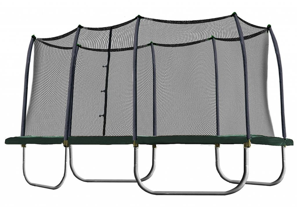 Skywalker 8-by-14 Best Rectangular Trampoline with Enclosure