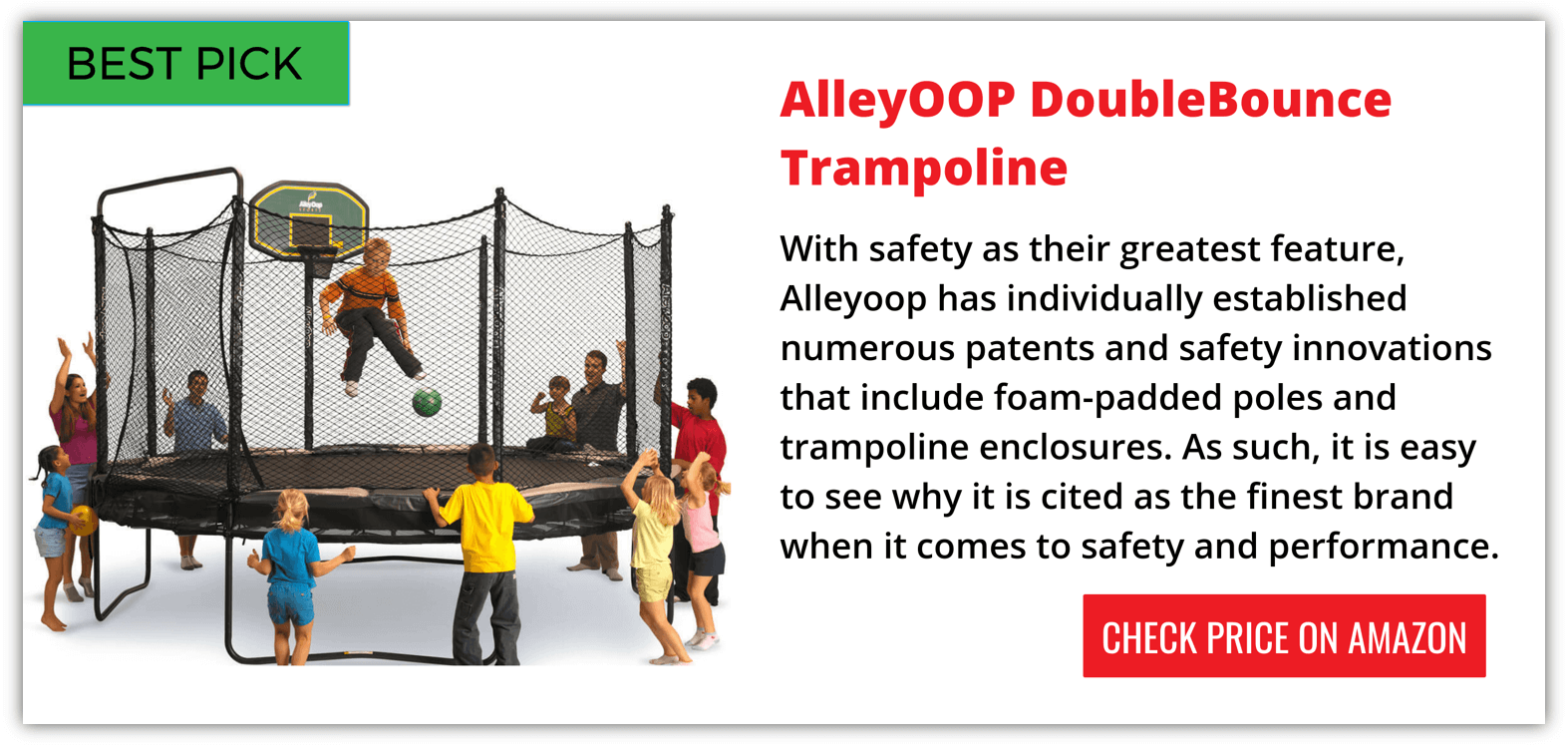 Alleyoop Trampoline Reviews