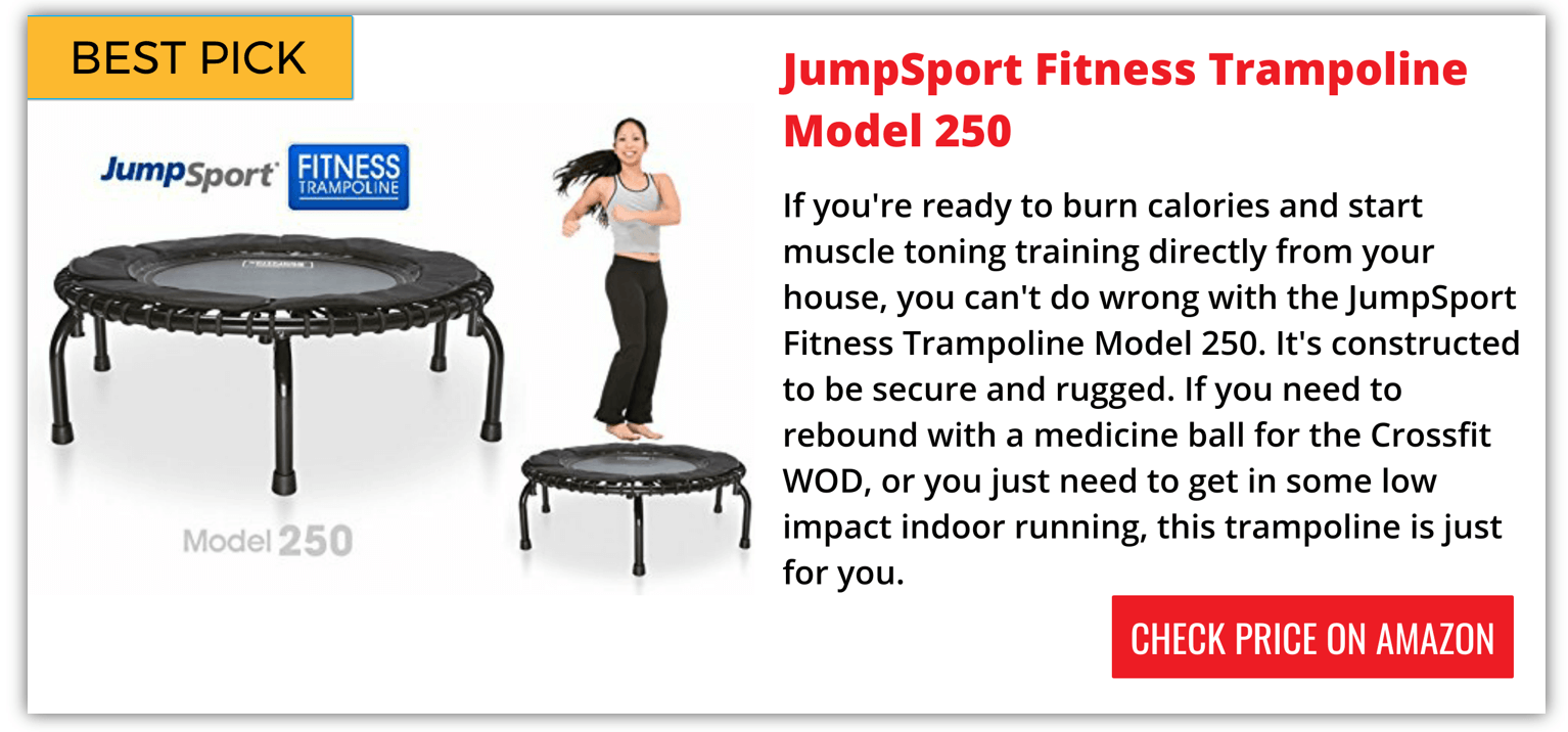 JumpSport Fitness Trampoline Model 250 Reviews