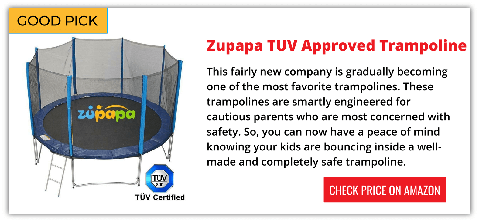 Zupap Trampoline Reviews
