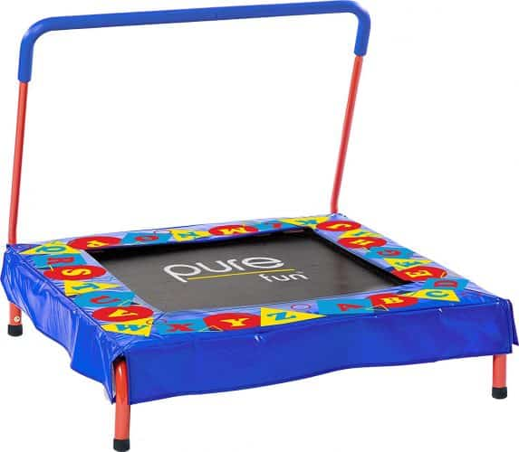 Pure Fun Kids Preschool Jumper 36 Mini Trampoline