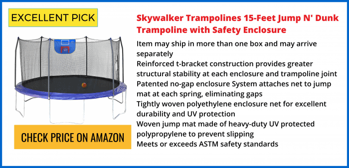 Skywalker 15′ Trampoline Reviews