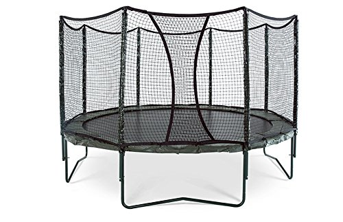 AlleyOOP PowerBounce Trampoline with Enclosure