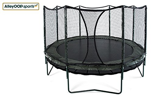 NEW 14' AlleyOOP DoubleBounce System with Integrated Safety Enclosure