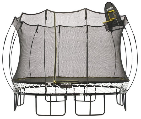 Springfree Trampoline Reviews The Safest Trampoline In